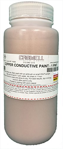 Copper Conductive Paint by Caswell