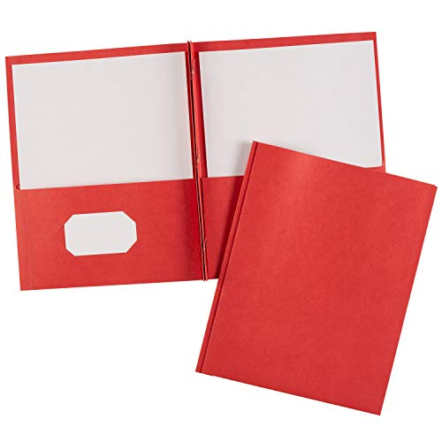 (Avery Two-Pocket Folders, Red, Pack of 25 (47979))