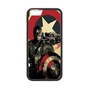 "YUAHS(TM) New Cell Phone Case for Iphone6 4.7"" with Captain America YAS885908"