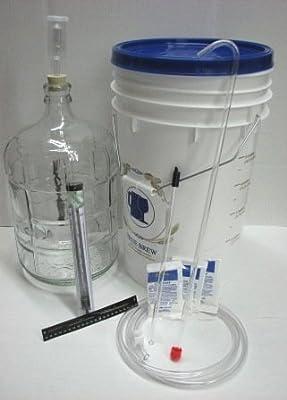 Wine Making Equipment Kit - Glass 3 Gallon
