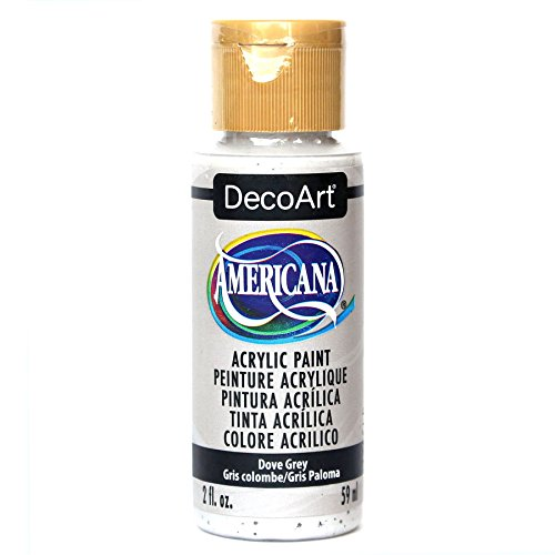 (DecoArt Americana Acrylic Paint, 2-Ounce, Dove)