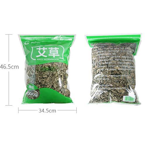 OUZ123 Natural Wild Folium Artemisiae Argyi Argy Wormwood AI Cao 艾叶草 1000g/35.3oz