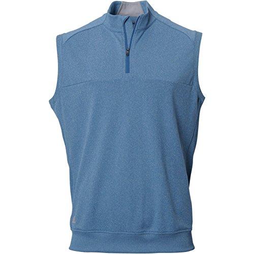 adidas Golf Men's Adi Club Vest, Tmag Core Blue Heather, ...