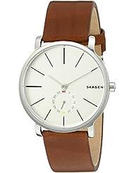 Skagen Mens SKW6273 Hagen Dark Brown Leather Watch