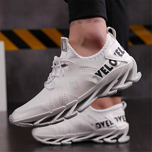 Athletic Baskets Jogging Mode Course Gym De Chaussures dwl White Watelves Hommes Marche Respirant Lgres Sports Casual Mesh pz7O0w