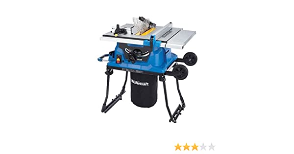 Mastercraft portable table saw 15a amazon tools home improvement keyboard keysfo Image collections