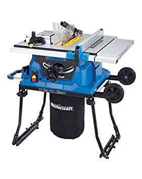 Mastercraft portable table saw 15a amazon tools home improvement mastercraft portable table saw 15a greentooth Gallery