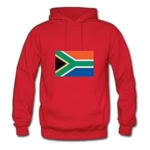 Designed South Africa Sweatshirts Red X-large Women