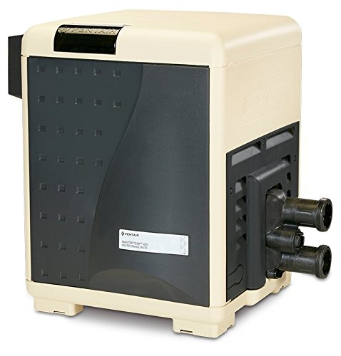 Pentair 460730 MasterTemp High Performance Eco-Friendly Pool Heater, Natural Gas, 200,000 BTU