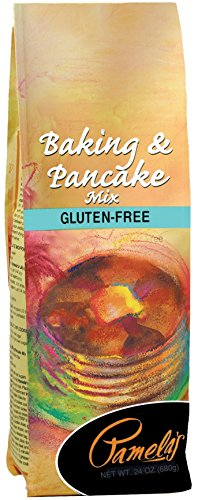 Pamela's Products Gluten Free  Baking & Pancake Mix, 24-Ounce Packages (Pack of 6)