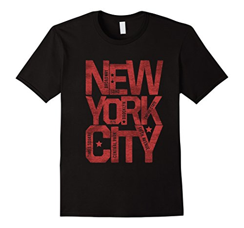 Mens New York City NYC Souvenir Unisex T-shirt Large - Best Soho New In York Shops
