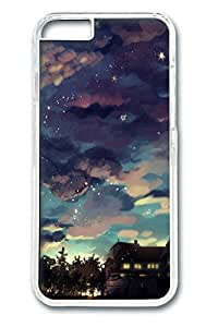 iPhone 6 Plus Case, Beauty Night Sky Personalized Slim [Scratch Proof] Protective Hard PC Clear Case Cover for Apple iPhone 6 Plus(5.5 inch) Only