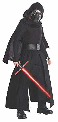 [Star Wars Men's Episode Vii: the Force Awakens Deluxe Kylo Ren Costume, Multi, X-Large] (Storm Costume Cosplay)