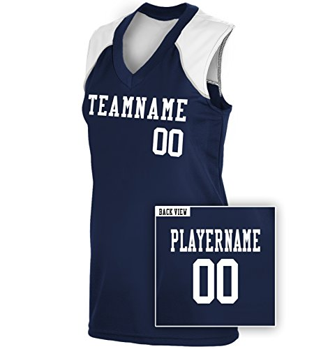 Women's Custom Softball Jersey, Personalize with YOUR Names & (Womens Racerback Softball Jersey)
