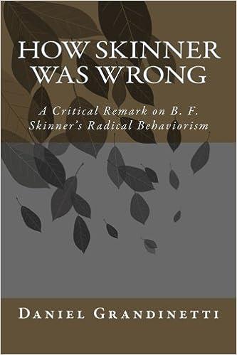 bf skinner radical behaviorism