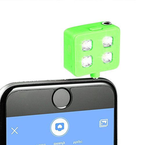 Green Kitchen App Android: Selfie LED Flash Adapter Light, Plug-in Universal