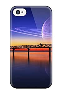 Snap-on Case Designed For Iphone 4/4s- Saturn In The Sea