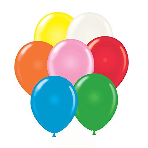 14 Inch Latex Balloons Standard Assortment (Premium Helium Quality) Pkg/100 (Balloons Latex Standard Assortment)
