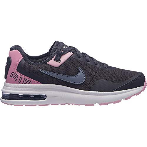 Nike Pour gs Pink Ashen Course Slate Max Femmes gridiron 002 Multicolore White Uk 5 Chaussures Lb Air De w14EEq