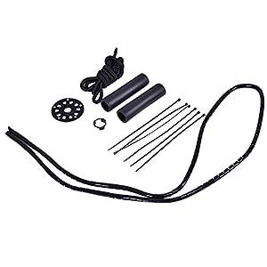 """Goplus 26"""" Front Wheel or Rear Wheel E-Bike Conversion Kit Electric Bicycle Motor Kit Bicycle Accessories Set or w/ PAS System, 48V 1000W or 36V 500W (48V 1000W RR448 w/PAS)"""