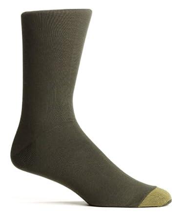 Gold Toe Mens ADC Aquafx Jersey Dress Sock Black Size 10-13 1845s-0011