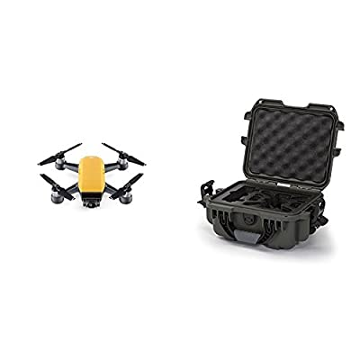 DJI Spark Sunrise Yellow Fly More Combo w/ Olive Nanuk Case