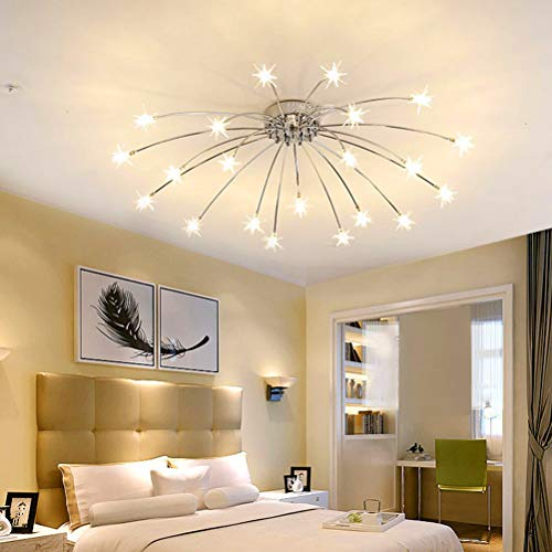Lámpara de techo para salón comedor moderna LED regulable ...