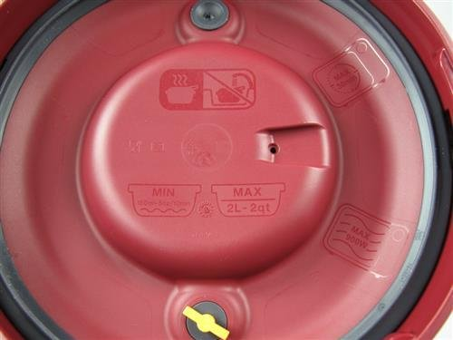 TUPPERWARE Mikrowelle MicroQuick Schnellkochtopf rot Mikro Druck Micro