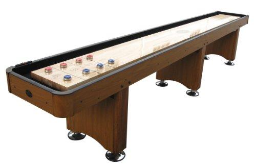 Playcraft Woodbridge Shuffleboard Table, Honey Oak, 14-Feet