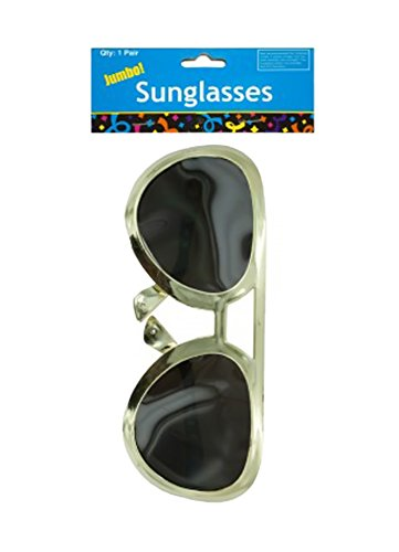 JT Party Supplies JT-PS-PB832 Sunglasses Jumbo Rock Star Party Sunglasses - 24 - Sunglasses Jt