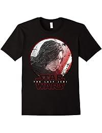Last Jedi Kylo Ren Sketch Portrait Graphic T-Shirt