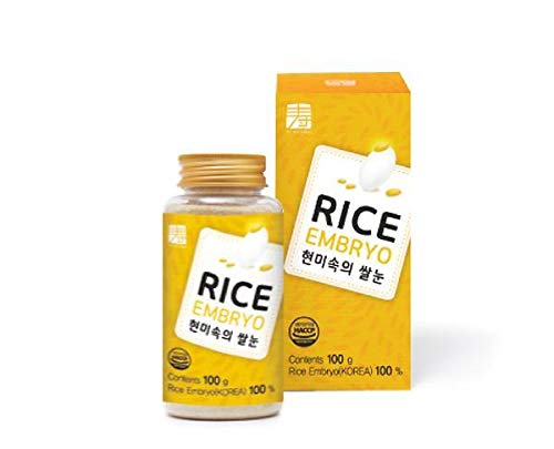 SU NATURAL GABA Brown Rice Embryo. Have a Spoonful of Vitamins, Dietary fiber, Calcium and Mineral. Apply to Rice, Juice and Salad. 100% Made in Korea. [100 g / 3.5 Oz]