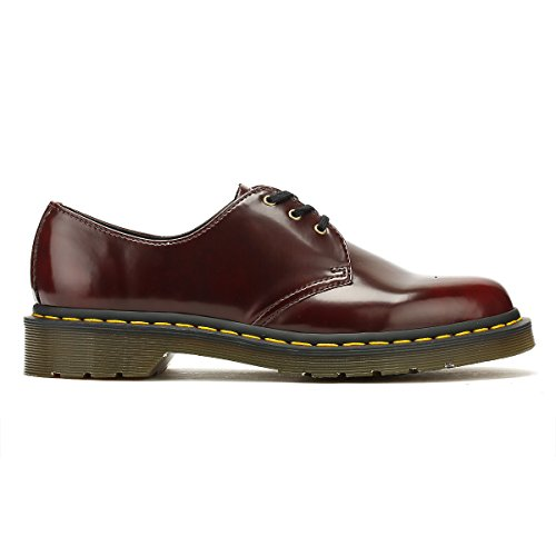601 Red 1461 Vegan Brush Cambridge Dr Red Donna Martens Scarpe Cherry S0Evq