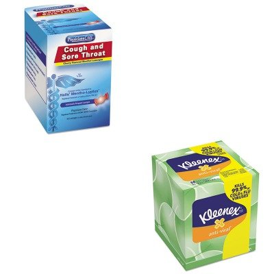 KITACM90306KIM25836CT - Value Kit - KIMBERLY CLARK KLEENEX Anti-Viral Facial Tissue (KIM25836CT) and Physicianscare Cough and Sore Throat (ACM90306)