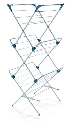 Polder DRY-4064 3-Tier Free Standing Clothes Drying Rack wit