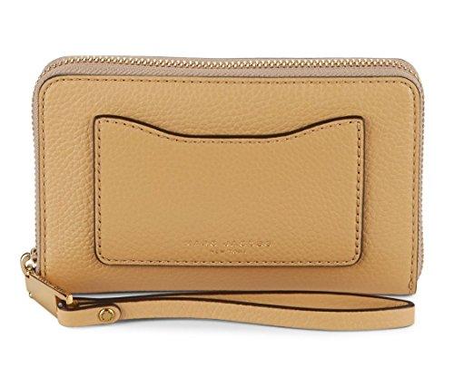 Marc Jacobs Recruit Zip Phone Wristlet, Golden Beige by Marc Jacobs