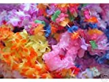 100 assorted Flower leis -wholesale LUAU party supplies offers