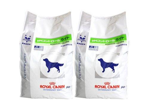 【2袋セット】ロイヤルカナン 食事療法食 犬用 pHコントロール ライト 8kg B00KIC3BFG