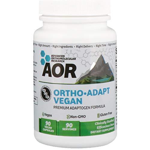 Advanced Orthomolecular Research AOR Ortho Adapt Vegan 90 Vegan Capsules