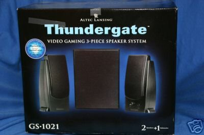 Altec Lansing Thundergate Video Gaming 3-Piece Speaker System by Altec Lansing