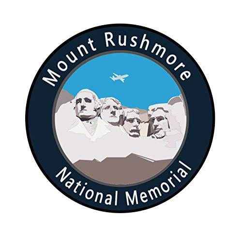 "Explore Mount Rushmore National Monument 3"" Die Cut Auto Car Vinyl Weatherproof Decal Sticker Explorer Park Series Souvenir Travel Vacation Mountains Bears Buffalo Wolves Nature Outdoors Rivers"