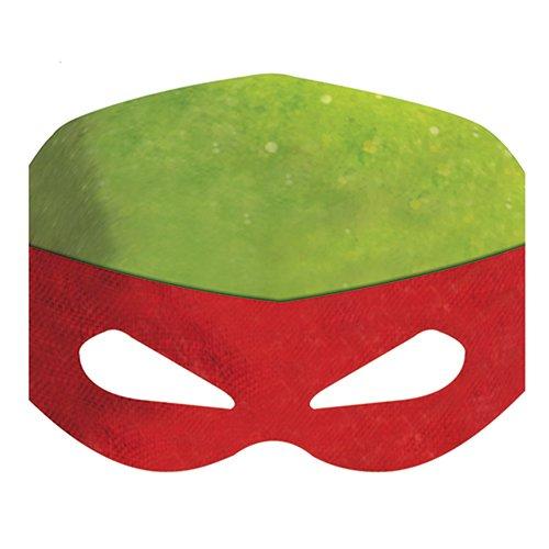 Unique Industries Nickelodeon Teenage Mutant Ninja Turtles Paper Masks (8)