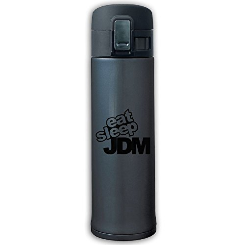 - Cupcari Stainless Steel Mug Eat Sleep Jdm Designed Vacuum Cup, 16-Ounce, Navy