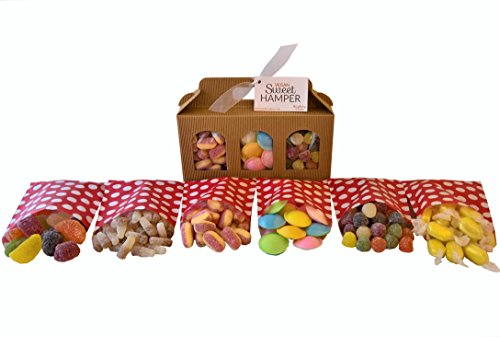 Vegan Sweet Hamper Box - Great Vegan & Vegetarian Gift for Birthday, Easter, Christmas, etc!