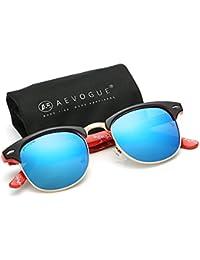 Polarized Sunglasses Semi-Rimless Frame Brand Designer...