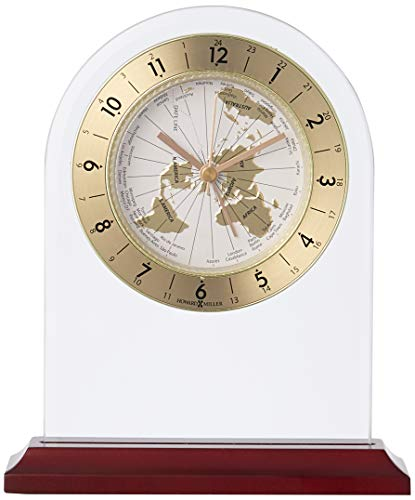 (Howard Miller 645-603 World Time Arch Table Clock)
