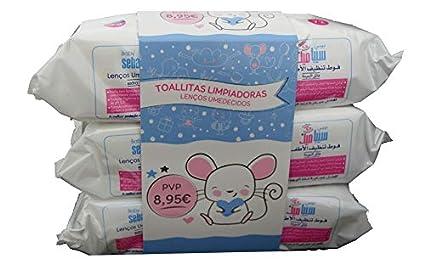 Baby Sebamed Toallitas Limpiadoras, 72un. Pack 3un.