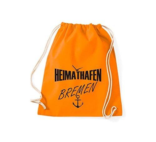 Shirtstown Bolsa De Gimnasio Puerto Bremen Naranja