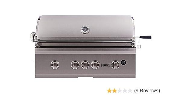 amazon com coyote cs36ng s series grill 36 inch garden outdoor