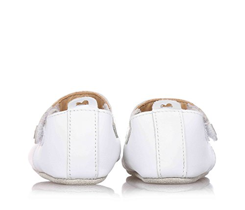 Bobux-Chaussons en cuir Soft soles blanc Mary Jane (15-21 mois) - Blanc